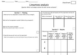 D-Limestone analysis Investigation sheet.docx