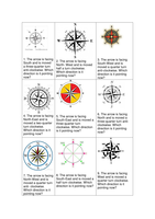 maths compass point question cards and answers ks2 by ellieteacher uk teaching resources tes. Black Bedroom Furniture Sets. Home Design Ideas