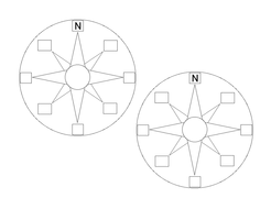 blank compass points template by noneill1 teaching resources tes. Black Bedroom Furniture Sets. Home Design Ideas