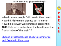 Brain structure and scanning lesson