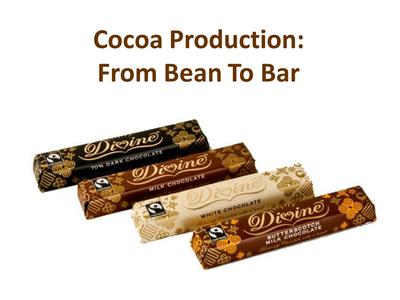 Chocolate Bar Task Teaching