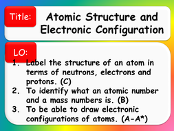 Electron configuration by zeyny50 teaching resources tes year 9 electron configurationppt ccuart Choice Image