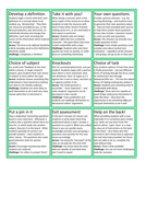Differentiation Inspiration!54 planning idea cards