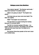 Dialogue scene from Blackface.docx