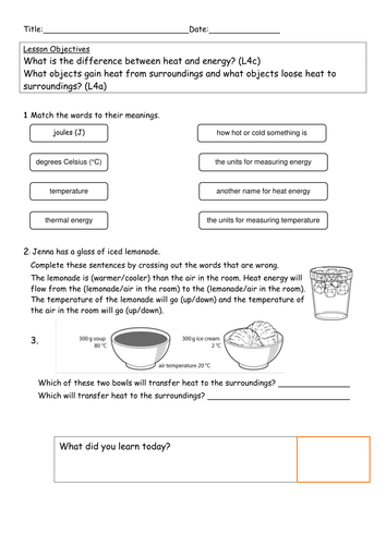 explore science worksheets 8i heat transfer by kitty sensei teaching resources tes. Black Bedroom Furniture Sets. Home Design Ideas