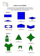 24) Algebraic Areas ANSWERS.doc