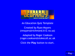 Aqa chem2 jeopardy revision game by neeny468 teaching resources tes aqa chem2 jeopardy revision game urtaz Images