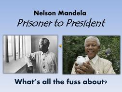 Nelson Mandela, an overview