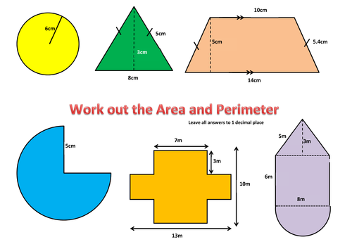 Composite Figures Area And Perimeter : The Complete Golf Club ...