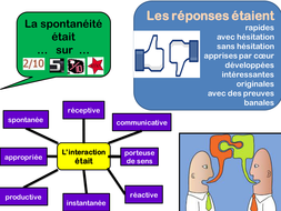 routine feedback in the target language after oral work A Level Fr.pptx