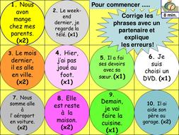 Hobbies: KS3 French