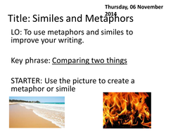 Lesson 2 similes and metaphors.pptx
