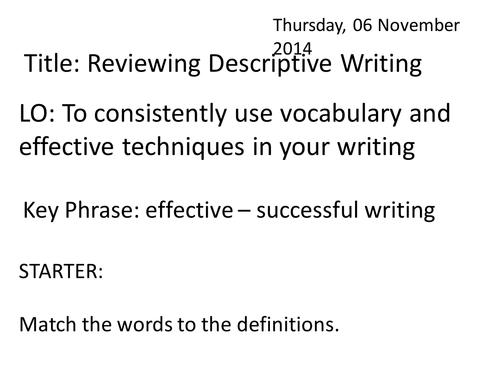 descriptive writing a beach by richardglamb teaching resources descriptive writing a beach by richardglamb teaching resources tes