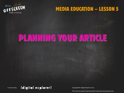 culture-media-5-planning-your-article.ppt