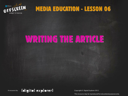 culture-media-6-writing-the-article.ppt