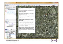 Google Earth Skills Sheets