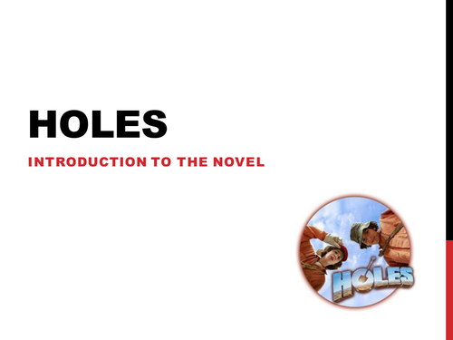 Holes Full Scheme of Work Resources by jamestickle86 Teaching – Holes Worksheets