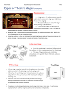 Types of  Theatre stages ammended.docx