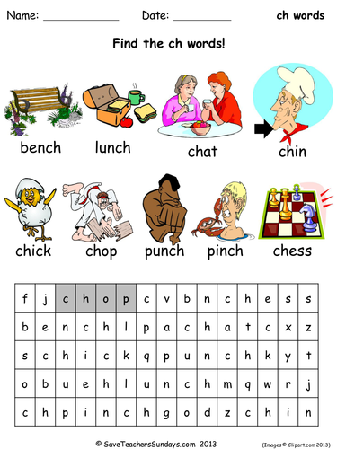 ch phonics worksheets by SaveTeachersSundays - Teaching Resources ...