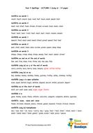 Year 3 Spelling List - Autumn 1.doc