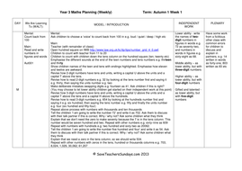 Year 3 Maths Planning (Weekly) - Week 1.pdf