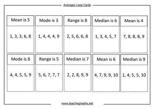 All Worksheets Average Mean Median Mode Range Worksheets Free – Average Worksheets