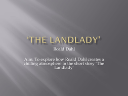 Thesis Statements For Essays The Landlady By Roald Dahl  Sample Essays High School also Essay Papers Online The Landlady By Roald Dahl By Ceitidh  Teaching Resources  Tes Science Fiction Essay Topics