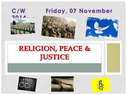Religion, Peace & Justice Overview