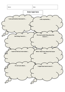 Learning Log: Blank Template