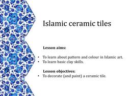 Islamic art geometric patterns and ceramic tiles by ayga islamic tiles 1pptx toneelgroepblik Gallery
