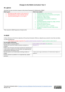 Changes to the Maths Curriculum - Year 2.pdf