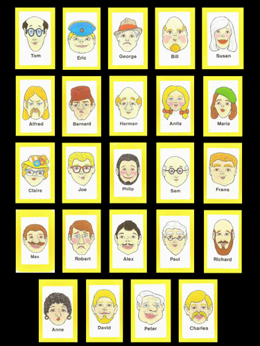 Equivalent And Simplifying Fractions Guess Who? By