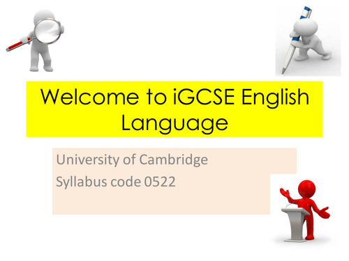 get gcse english language coursework