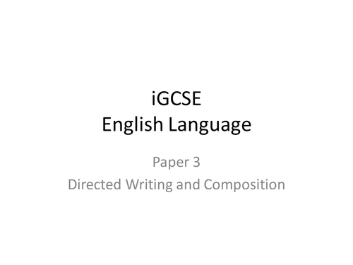 igcse english essay on global essay
