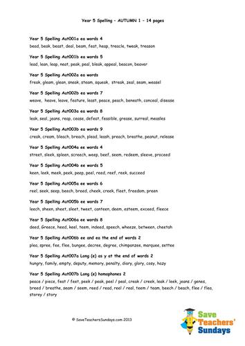Number Names Worksheets : kindergarten spelling word list ...