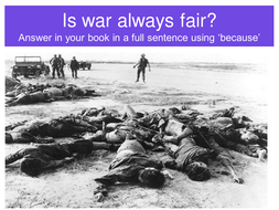 Inside out and back again war on peace ppt/questions by kt.