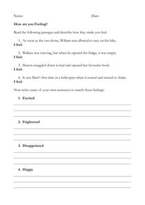Creative writing homework sheets