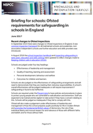summarise regulatory requirements for safeguarding children within a home based setting Overview of the welfare requirements 14 safeguarding and  for the early years foundation stage  of individual children within the setting.