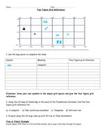 four figure grid references worksheet by rtj1989 teaching resources. Black Bedroom Furniture Sets. Home Design Ideas