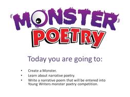 Narrative Poetry Lesson Plan & Planning Sheet KS2