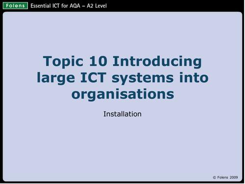Info   AQA ICT A Level        Prelim material