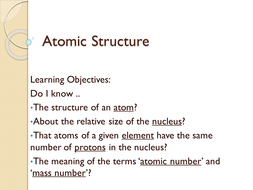 Atomic structure by kbuxey teaching resources tes atomic structurepptx ccuart Gallery