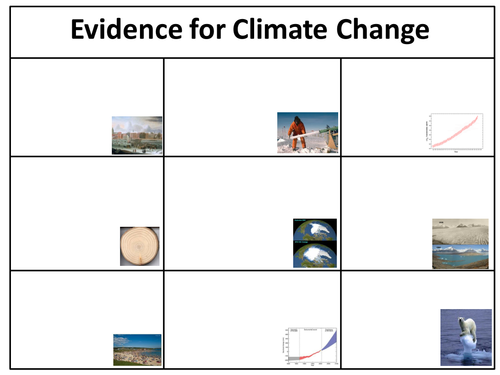 an introduction to the evidence for climate change by ew90 teaching resources tes. Black Bedroom Furniture Sets. Home Design Ideas