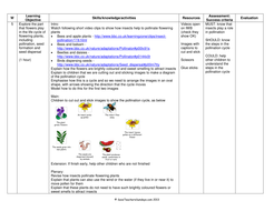 Life cycle of flowering plants plan and worksheet