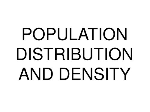 powerpoint recap on population by missross89 uk teaching resources tes. Black Bedroom Furniture Sets. Home Design Ideas