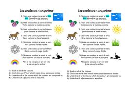 Les couleurs - 3 lessons