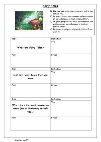 Creative writing fairy tales part one by victorjwebb teaching creative writing fairy tales part one by victorjwebb teaching resources tes maxwellsz