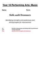 New final baseline assessment drummers.docx