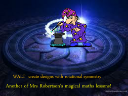 Rotational symmetry patterns