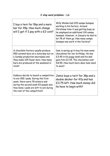 Number Names Worksheets : 4 digit subtraction word problems ~ Free ...